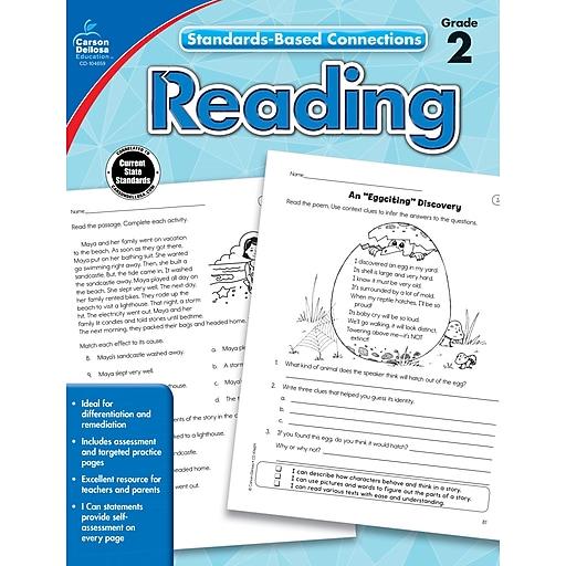 Standards-Based Connections Reading Grade 2 Workbook Paperback (104659)