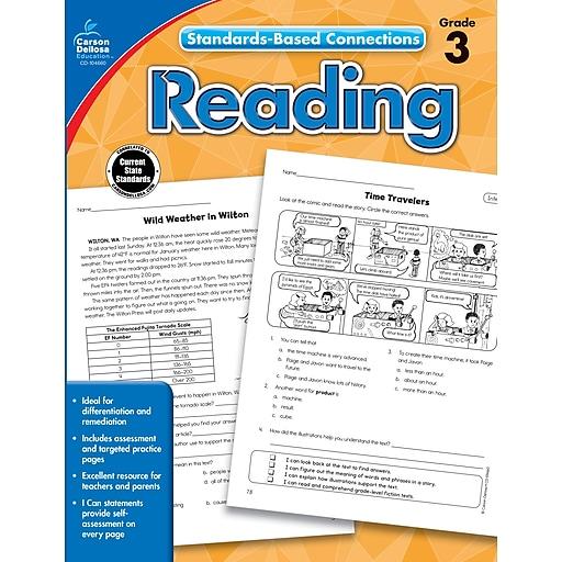 Standards-Based Connections Reading Grade 3 Workbook Paperback (104660)