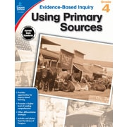 Evidence-Based Inquiry Using Primary Sources Grade 4 Workbook Paperback (104862)