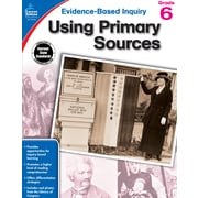 Evidence-Based Inquiry Using Primary Sources Grade 6 Workbook Paperback (104864)