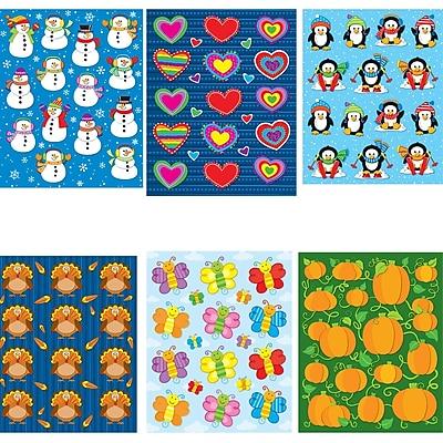 Carson-Dellosa Seasonal Shape Sticker Set Multi-Color (144553)
