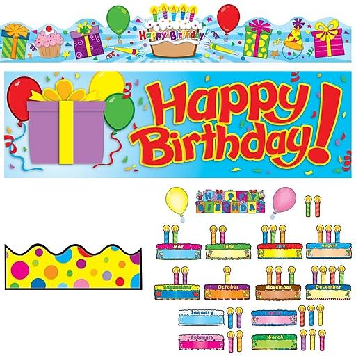Carson-Dellosa Happy Birthday Classroom Set (144572)