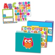 Carson-Dellosa Colorful Owls Multi-Color Organization Set (144927)
