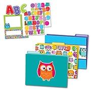 Carson-Dellosa Colorful Owls Multi-Color Organization Set (144927)