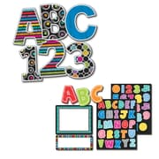 Carson-Dellosa Colorful Chalkboard Large and Small Letters Set (144937)
