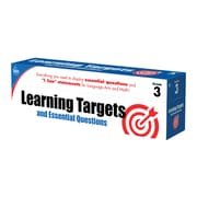 Learning Targets and Essential Questions Grade 3 Pocket Chart Cards (158060)