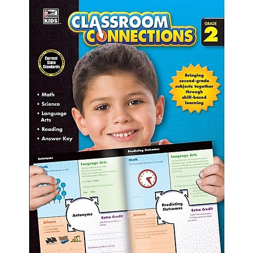 Classroom Connections Grade 2 Workbook Paperback (704639)