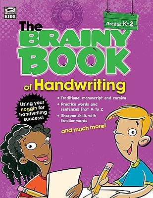 Brainy Book of Handwriting Grades K-2 Workbook Paperback (704668)