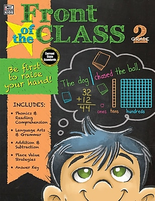 Front of the Class Grade 2 Workbook Paperback (704943)