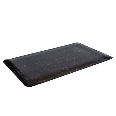 Floortex FCSTP2436B Anti Fatigue Cushion Mats, 24