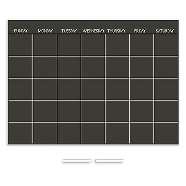 Wall Pops Chalk Monthly Calendar
