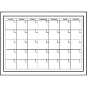 "Wall Pops Dry Erase Monthly Calendar, 24"" x 17.5"", White"