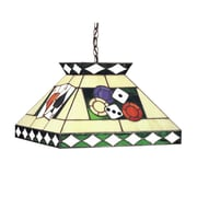 RAM Game Room Tiffany 2-Light Pool Table Light