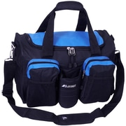 Everest 18'' Sports Travel Duffel w/ Wet Pocket; Royal Blue/Black