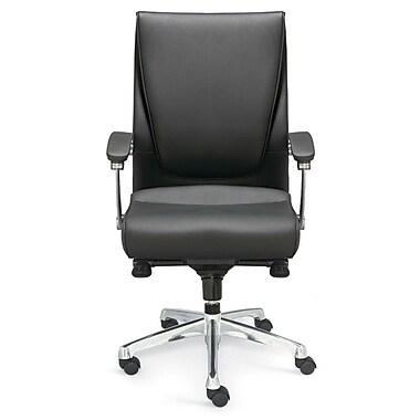 Valo Luxo Leather Executive Chair; Black