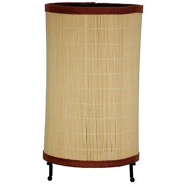 Oriental Furniture Japanese 11.5'' Table Lamp