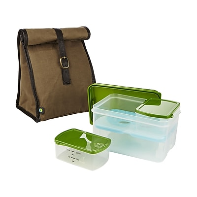 Fit & Fresh Classic Lunch Bag 6-Container Food Storage Set WYF078277561598