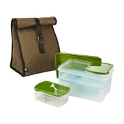 Fit & Fresh Classic Lunch Bag 6-Container Food Storage Set