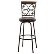 Hillsdale Garrison Adjustable Height Swivel Bar Stool