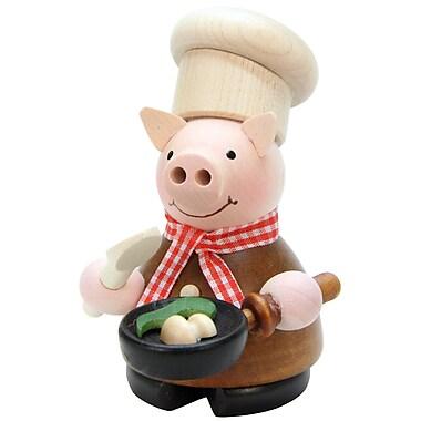 Alexander Taron Christian Ulbricht Lucky Pig Chef Incense Burner