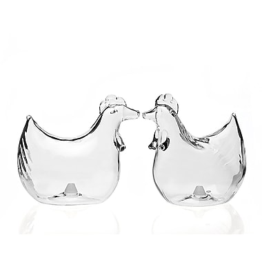 Studio Silversmiths Rooster Salt and Pepper