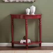 Wildon Home   Crosswind Console Table; Red