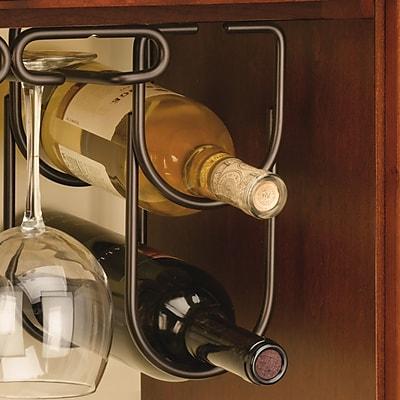 Rev-A-Shelf 2 Bottle Hanging Wine Rack; Oil Rubbed Bronze