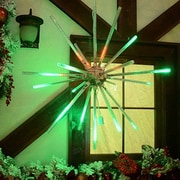 Brite Ideas 24'' Animated Starburst LED Light; Red/Green