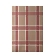 E By Design Geometric Taupe Indoor/Outdoor Area Rug; 3' x 5'