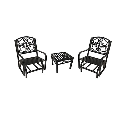 Oakland Living Lakeville 3 Piece Dining Set