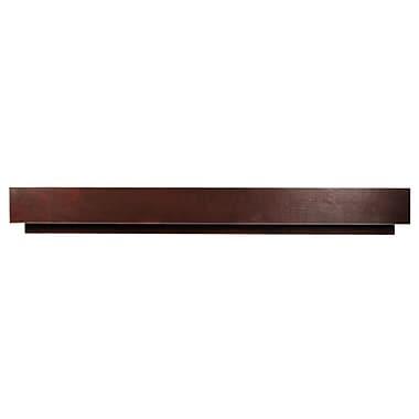D'Vontz MDV Modular Cabinetry 24'' Wood Stretcher for MDV Base; Espresso