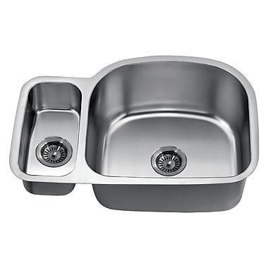 Dawn USA 30'' x 20'' Under Mount Double Bowl Kitchen Sink
