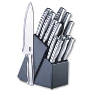 Cook N Home 15 Piece Knife Block Set