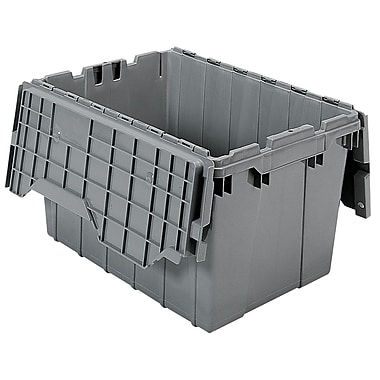 Akro-Mils Attached Lid Container, 21