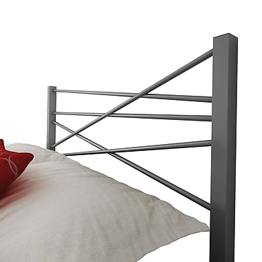 Amisco Crosston Queen Size Metal Headboard 60