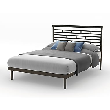 Amisco Highway Queen Size Metal Platform Bed 60