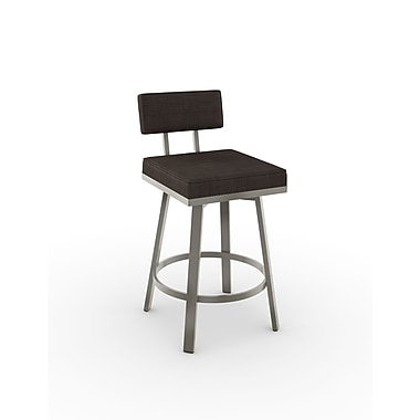 Amisco Staten Swivel Metal Barstool 30