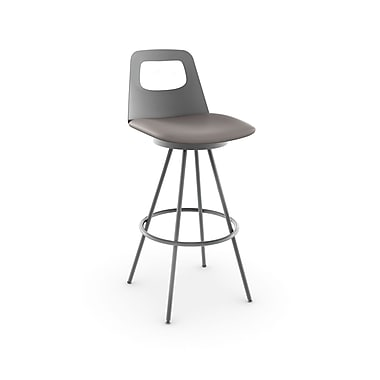 Amisco Ovo Swivel Metal BarStool 30