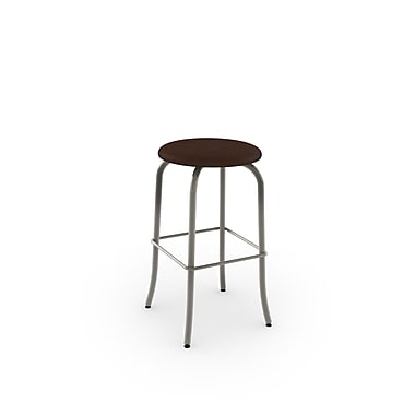 Amisco Flare Swivel Metal Counter Stool 26