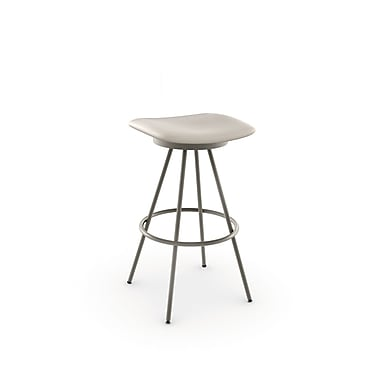 Amisco Beacon Swivel Metal Barstool 30