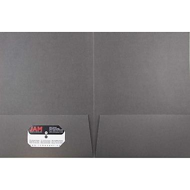 JAM PaperMD – Chemise fini lin à deux pochettes, gris, paquet de 12