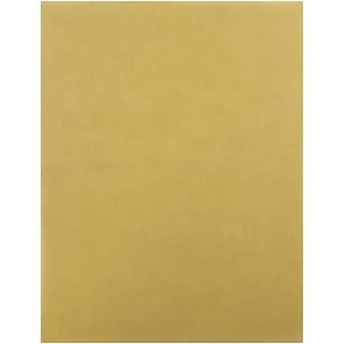 JAM Paper® Translucent Vellum Cardstock, 8.5 x 11, 43lb Earth Brown, 250/ream (1592225)