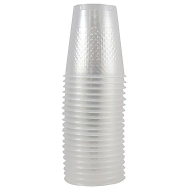 JAM Paper® Plastic Cups, 12 oz, Clear, 200/Pack (255529346b)