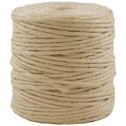 JAM Paper® Kraft Twine, 1/8 Inch x 73 Yards, Ivory, Sold Individually  (267820980)