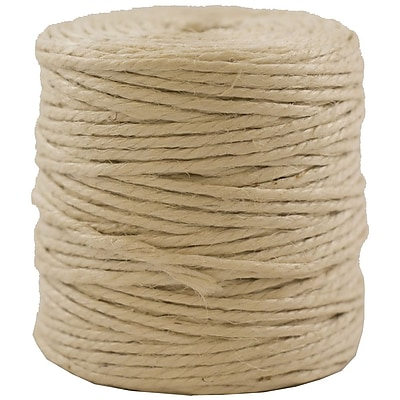 JAM Paper® Kraft Twine, 73 Yards, Ivory, Sold Individually (267820980)
