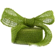 JAM Paper® Burlap Ribbon, 1 1/2 Inch x 10 Yards, Lime Green, Sold Individually (344226948)