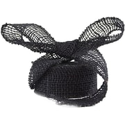JAM Paper® Burlap Ribbon, 1.5 inch wide x 10 Yards, Black, Sold Individually (344226959)