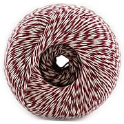 JAM Paper® Baker's Twine, Red & White, 500 Yards, Sold Individually (349527465)