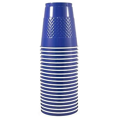JAM Paper® Plastic Cups, 12 oz, Blue, 200/Pack (2255520701b)