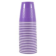 JAM Paper® Plastic Cups, 12 oz, Purple, 20/pack (2255520707)